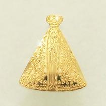 Pingente Nossa Senhora Aparecida Ouro 18k 750 Padroeira
