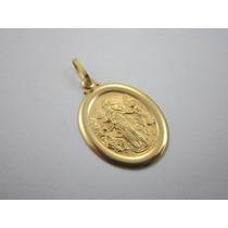 Vistosa Medalha Nossa Senhora - Ouro 18k - 2.73 Gr