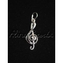 Pingente / Berloque Símbolo Da Música - Clave De Sol