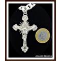 Pingente Crucifixo Em Prata 950 Frete Grátis Cruz Com Cristo