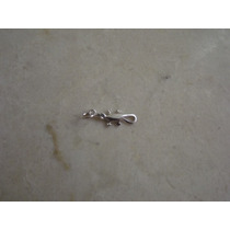 Pingente Salamandra Pequena Prata 950 Frete Grátis