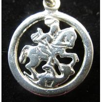 Medalha / Pingente Prata 950 São Jorge Christianjoias.net