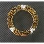 Pingente Mandala Personalizada Em Prata Banhada A Ouro 18k.
