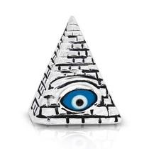 Bling Jewelry Esterlino Prata Maçônico Mal Olho Pingente