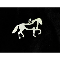 Pingente Cavalo Vazado Em Prata 925