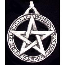 Colar Pentagrama - Pingente Com Colar : Lei Wicca
