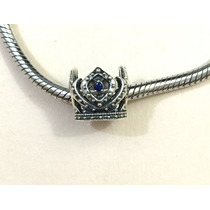 Berloque Charm De Coroa Em Prata Original 925 Estilo Pandora