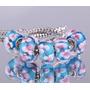 Kit 5 Berloques Beads Prata De Lei 925 Murano Pandora Vivara