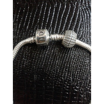 Trava Pulseira Pandora Vivara Prata 925 Maciça Simples