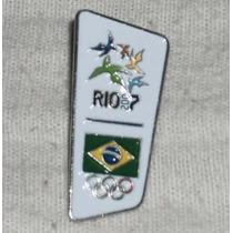 Pin Dos Jogos Pan Americanos Rio 2007 - Brasil