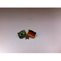 Pins Da Bandeira Do Brasil X Alemanha