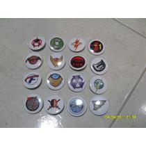 16 Botons Badges Novos Dc Comics 2011 Dc Direct Bonellihq