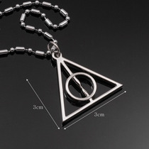 Colar Harry Potter - Cor Prata - Pronta Entrega