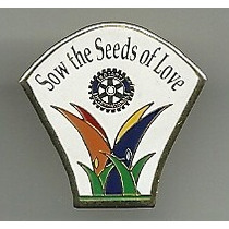 Pin Clube Rotary Sow The Seeds Of Love