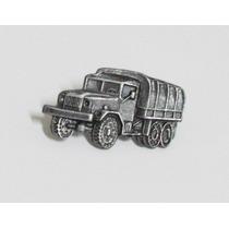 Pin - Boton Caminhão De Tropa - Chumbo