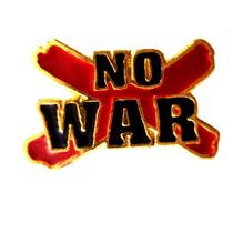 Pin Boton Broche No War / Motociclista Militar/ Sem Guerras