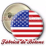 Boton Bandeira Estados Unidos B25mm À 55mm