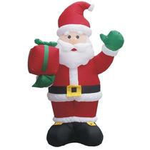 Papai Noel Gigante Inflavel 2,40m 110v