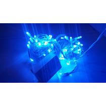 Pisca Pisca Led Alto Brilho Com 100 Leds Azul Com 8 Funções