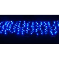 Cascata Led Azul Pisca Pisca Natal 100 Lampadas E Decoracao
