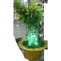 Vaso Decorativo Luminaria Arvore Flores Abajour Pisca