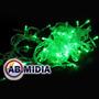 Pisca Pisca 100 Lampadas Led Verde Natal Led Decoracao