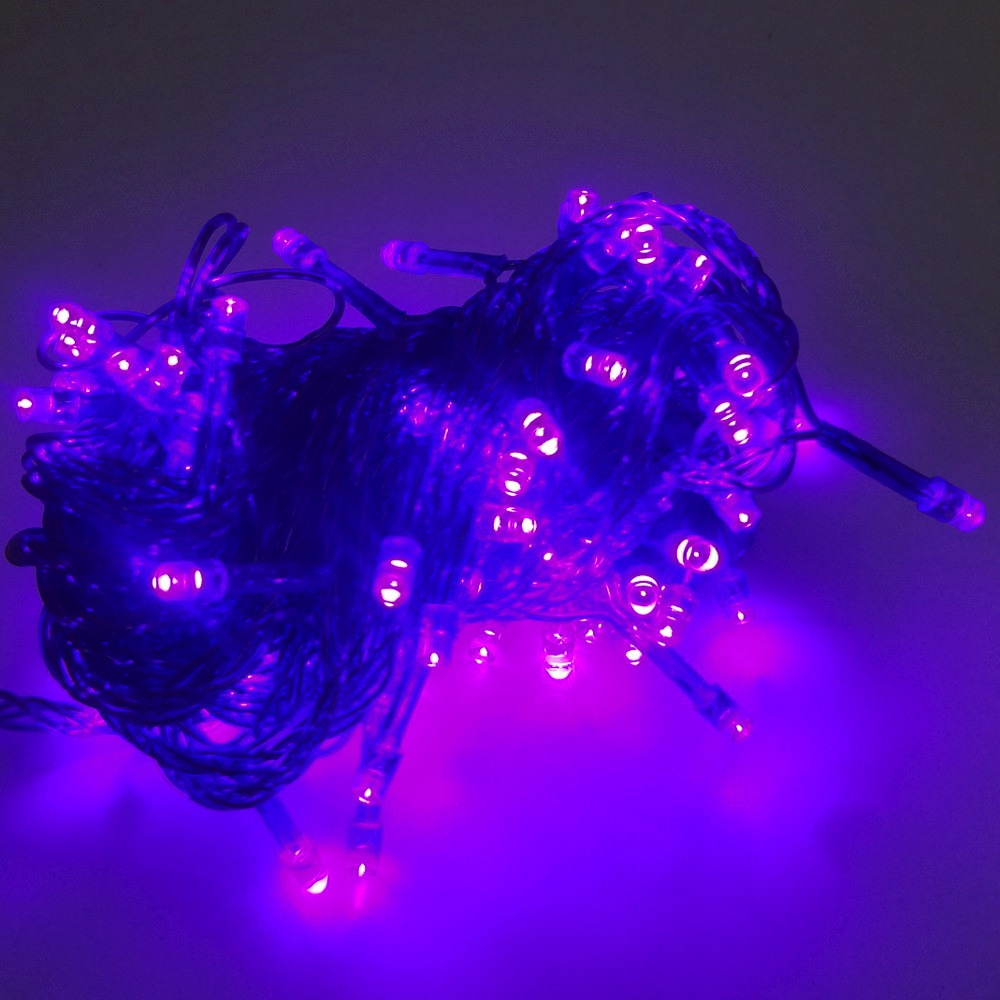 decoracao lampadas led : decoracao lampadas led:Pisca Pisca Natal 100 Lampadas Led Rosa Festa Casa Decoracao – R$ 18