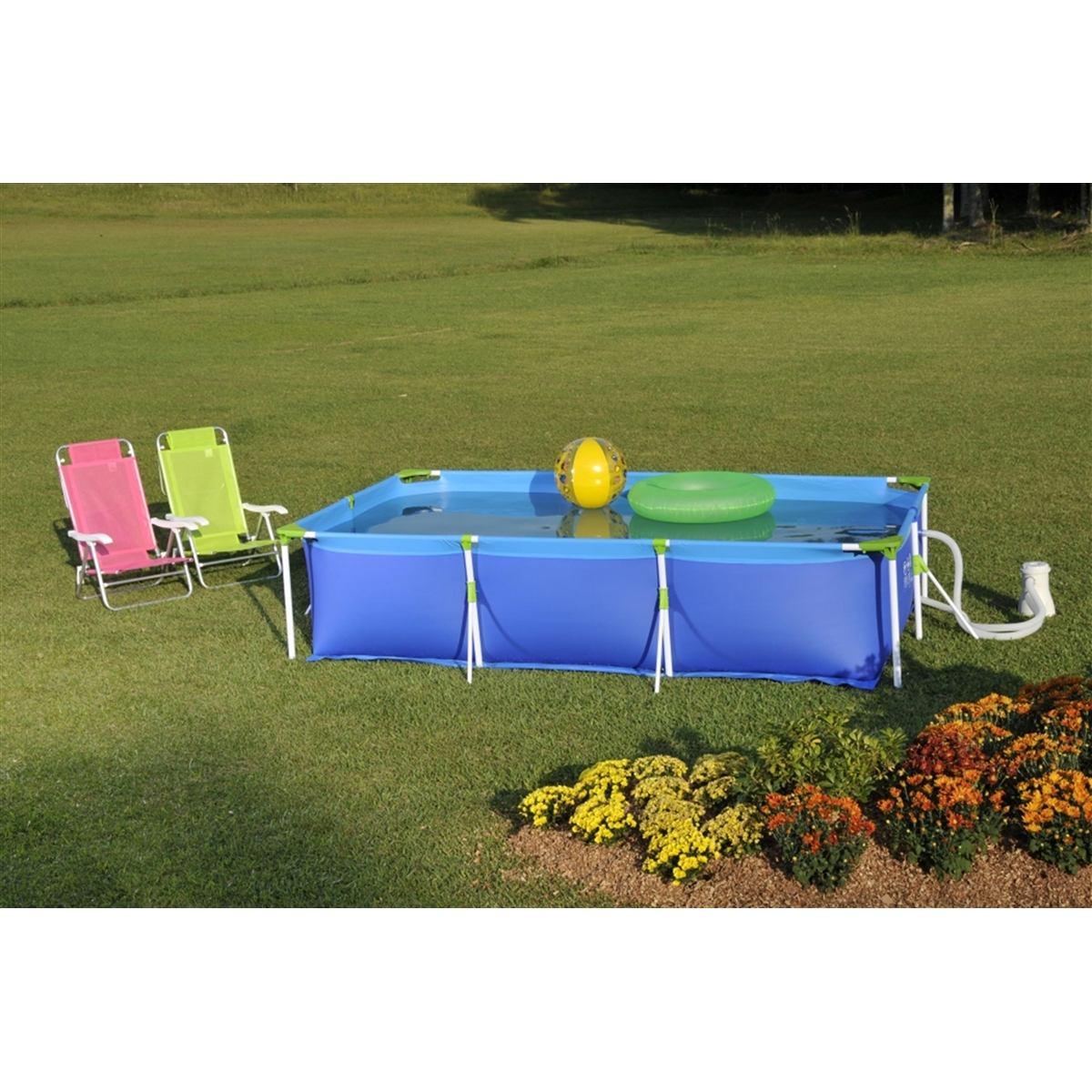 Piscina 3700 litros premium mor r 395 90 no mercadolivre for Calcular litros piscina