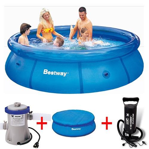 Piscina infl vel litros filtro capa bomba for Calcular litros piscina