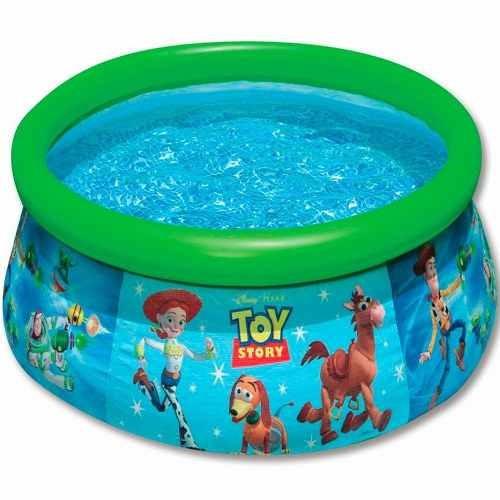 Piscina toy story 886 litro easy set infl vel infantil for Piscinas toy