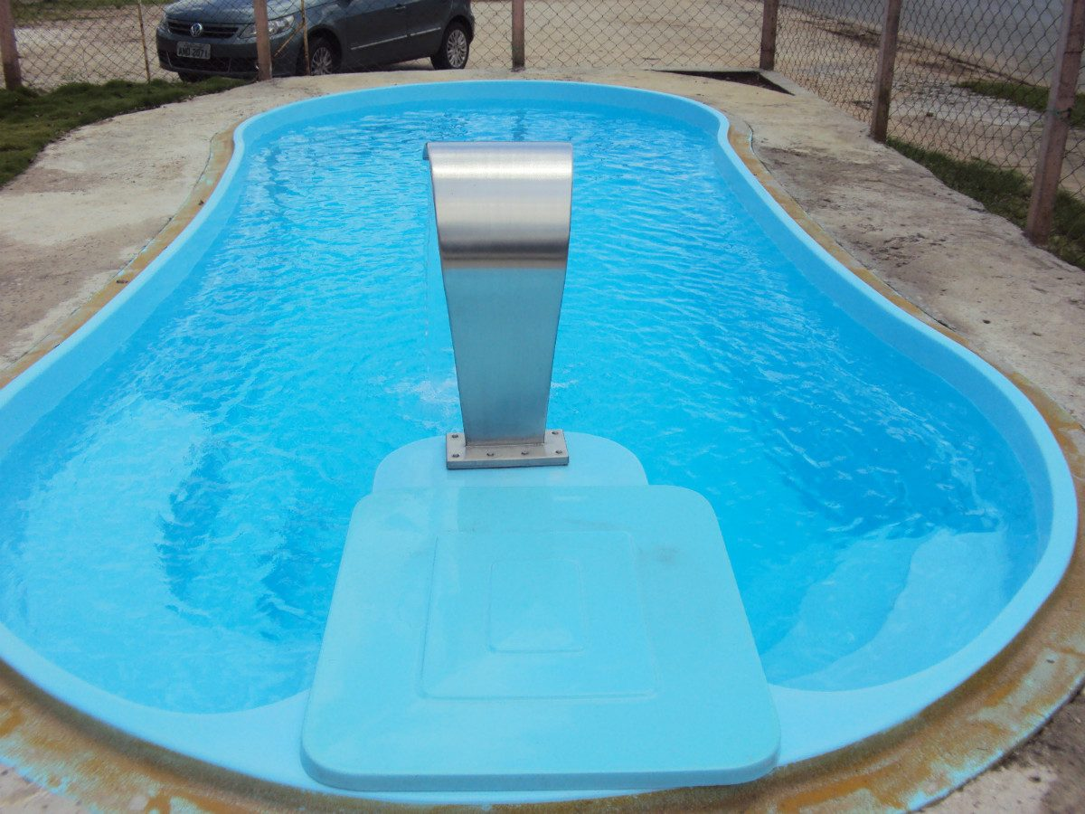 Por la vida y la alegr a piscina 3x6 fibra for Piscinas de fibra instaladas