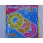 Boia Inflável Infantil Redonda Com Bolhas - Amarela