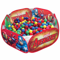 Piscina De Bolinhas Portátil Infantil Avengers Zippy Toys