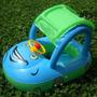 Carro Inflável De Piscina Para Bebês Com Volante E Buzina
