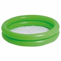 Banheira Circular Inflável Piscina Infantil 130 Litros Verde