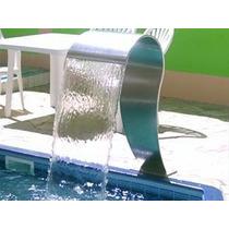 Cascata Naja Para Pisicnas Ss Tech Em Aço Inox Boca De 29cm