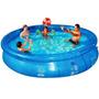 Piscina Redonda Splash Fun 7800 Litros Mor Conforto Casa