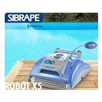 Robô Para Limpeza De Piscinas Xt5 Sibrape - Frete Grátis*