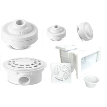 Dispositivos De Piscina Alvenaria Sobrepor Kit Completo Novo