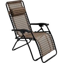 Cadeira Reclinável 21 Posições Espreguiçadeira Piscina