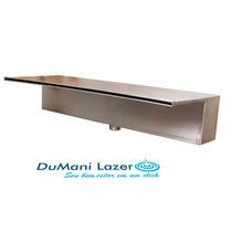 Cascata Em Inox Para Piscina - Embutir Lamina Longa 40cm