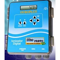 Ionizador Para Piscina Ouro Plus 75m³ Tratamento Sem Cloro