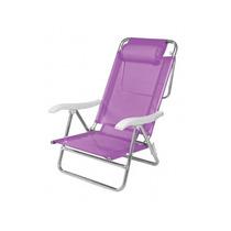 Cadeira De Praia Sol De Verão Com Almofada Mania Virtual
