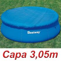 Capa Proteção 305 Cm Para Piscina Inflável 3,05 M Bestway