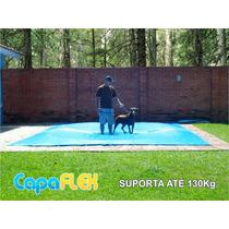 Capa De Piscina 7m X 4m Lona Proteção Cobertura Tela Cerca