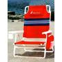 Cadeira Praia Ou Piscina Nautica Porta Copo E Bolsa Térmica