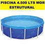 Piscina Circular Estrutural 4500 Litros Mor P Entrega