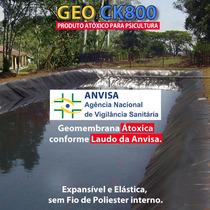 Lona Geomembrana Atoxica Tanque Peixe Lagos 800 Micras 4x3mt