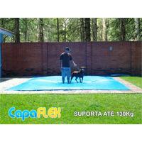 Capa De Piscina 10,5m X 4,5m Lona Proteção Cobertura Tela