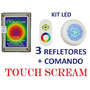 Kit Led Para Piscina Com Comando Touch